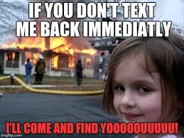 Text Back Meme - i think this is the wrong template imgflip