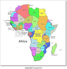africa map color free print of color africa map color africa map white