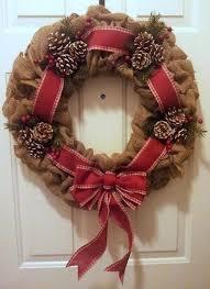 christmas burlap wreaths burlap ribbon christmas tree christmas burlap wreath with country