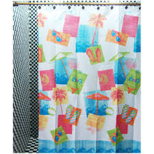 Colorful Fabric Shower Curtains Shower Curtains