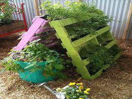 Pallet Gardening Ideas Garden Pallet Ideas Artflyz