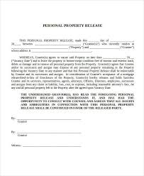 property release form format of location release form free