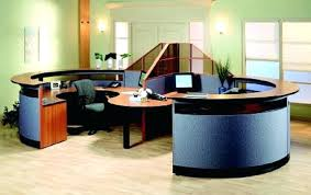 Two Person Reception Desk 2 Person Office Desk Two Magnificent Reception Desks And Stations