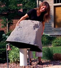Fake Rocks For Landscaping by Amazon Com Dekorra Products Boulder Rock 27 Inch By 21 Inch By