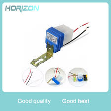 photocell sensor automatic light control switch automatic auto on off photocell street light switch dc ac 220v 50