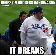 La Dodgers Memes - mlb memes on twitter bandwagon is getting full dodgers http t