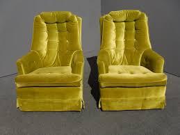 Retro Swivel Armchair Home Design Orange Mid Century Swivel Chairs Vintage Event