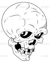 Draw Halloween Drawn Skull Halloween Pencil And In Color Drawn Skull Halloween