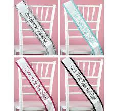 custom sash custom white bridal sash bridal shower sash