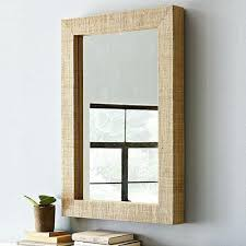 Round Bathroom Mirror With Shelf by Wall Mirror Wood Mirror Wall Organizer Wooden Mirror With Shelf