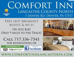 Comfort Inn Lancaster County North Denver Pa Maple Grove Raceway Where To Stay