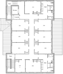 House Blueprint by William U0026 Mary Fraternity Housing