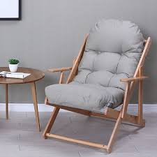 Folding Living Room Chair Solid Wood Furniture Folding Living Room Chairs With Padded Seat