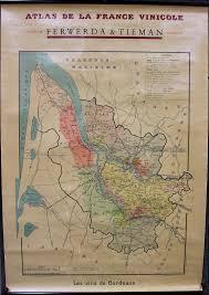 Bordeaux France Map Atlas De La France Vinicole Les Vins De Bordeaux Decembre