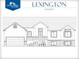 lexington home design rambler style home by nilson homes