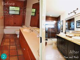 Bathroom Makeover Pictures Before And After - bathroom makeovers before and after the bathroom makeovers plan