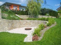 Gartensitzplatz Selber Bauen Feuerstelle Garten Naturstein Home Design Inspiration Und