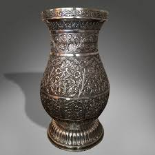 very rare chinese solid silver jar shaped vase for sale at 1stdibs