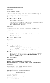 Resume For Manufacturing It Head Resume Resume For Your Job Application