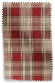 Wholesale Upholstery Fabric Suppliers Uk Buy Versatile Check Stirling Red Upholstery Fabric Sample From The