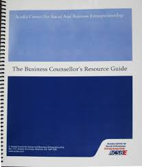 resource guide acsbe business counsellor u0027s resource guide