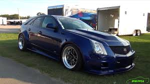 2014 cadillac cts v wagon insanely clean 10 second cts v wagon widebody screams holley ls