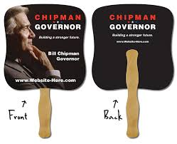 custom church fans fans church fans custom printed political candidate