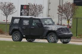 jeep front view 2018 jeep wrangler jl aluminum hood and doors rumored by