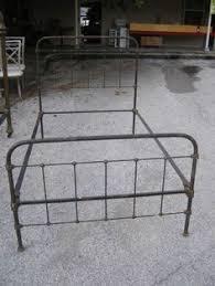 Metal Bed Frame Casters Antique Bedframe Bed Frame White Rollers Casters Brass Cross Bars