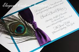 peacock invitations invitations with peacock feathers invitations
