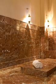 Moroccan Tiles Very Low Bath by Lie On A Marble Heated To 53 Degrees A Moroccan Therapist Will