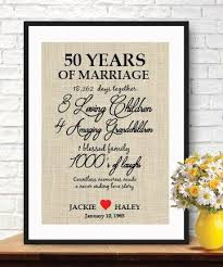 50th anniversary gifts rememberable gift for 50th wedding anniversary 50th