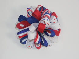 loopy bow how to make a loopy ribbon puff boutique hair bow