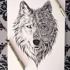 tribal wolves