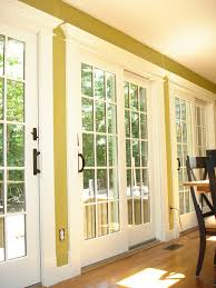 these are the anderson 400 series sliding patio doors with custom