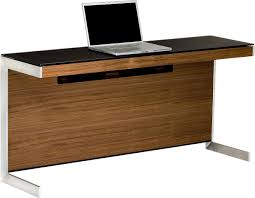 Walnut Computer Desks Walnut Computer Desk Bdi Sequel 6002 Return Onsingularity
