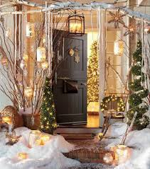 Home Decor For Christmas 40 Cool Diy Decorating Ideas For Christmas Front Porch Amazing
