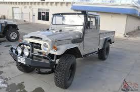 toyota hunting truck toyota land cruiser fj45 long bed pickup truck fully restored
