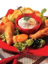 cuisine choumicha poulet recette beignets de poulet et leur sauce à la crème d ail