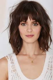 medium length hairstyles front and back with bangs love shoulder length layered hairstyles wanna give your hair a