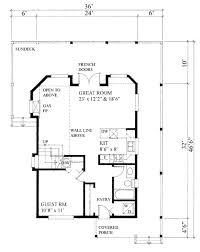 Houseplans Com by Cabin Style House Plan 3 Beds 2 00 Baths 1370 Sq Ft Plan 118 113