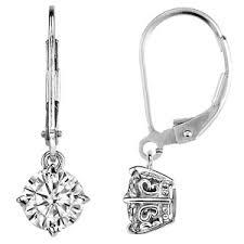 moissanite earrings moissanite stud earrings moissaniteco