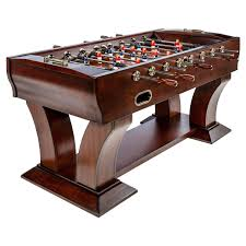 well universal foosball table well universal 65 in wooden foosball table large wooden crafted