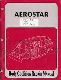 1992 ford ranger explorer and aerostar repair shop manual original set