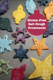 free salt dough ornament recipe