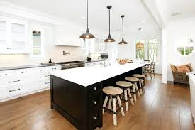 black kitchen island with stools kitchen with an island charming one wall kitchen layout with island