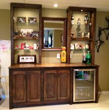 Floor To Ceiling Cabinet by Furniture Floor To Ceiling Bar Cabinet For Home With Glass Shelf