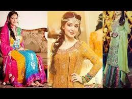 New Pakistani Bridal Dresses Collection 2017 Dresses Khazana Beautiful Mehndi Dresses For Pakistani Brides 2017 Mehndi