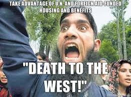 Muslim Man Meme - angry muslim