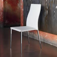 Upholstered Chair by Tai Bontempi Upholstered Chair Covered In Faux Leather And Leather